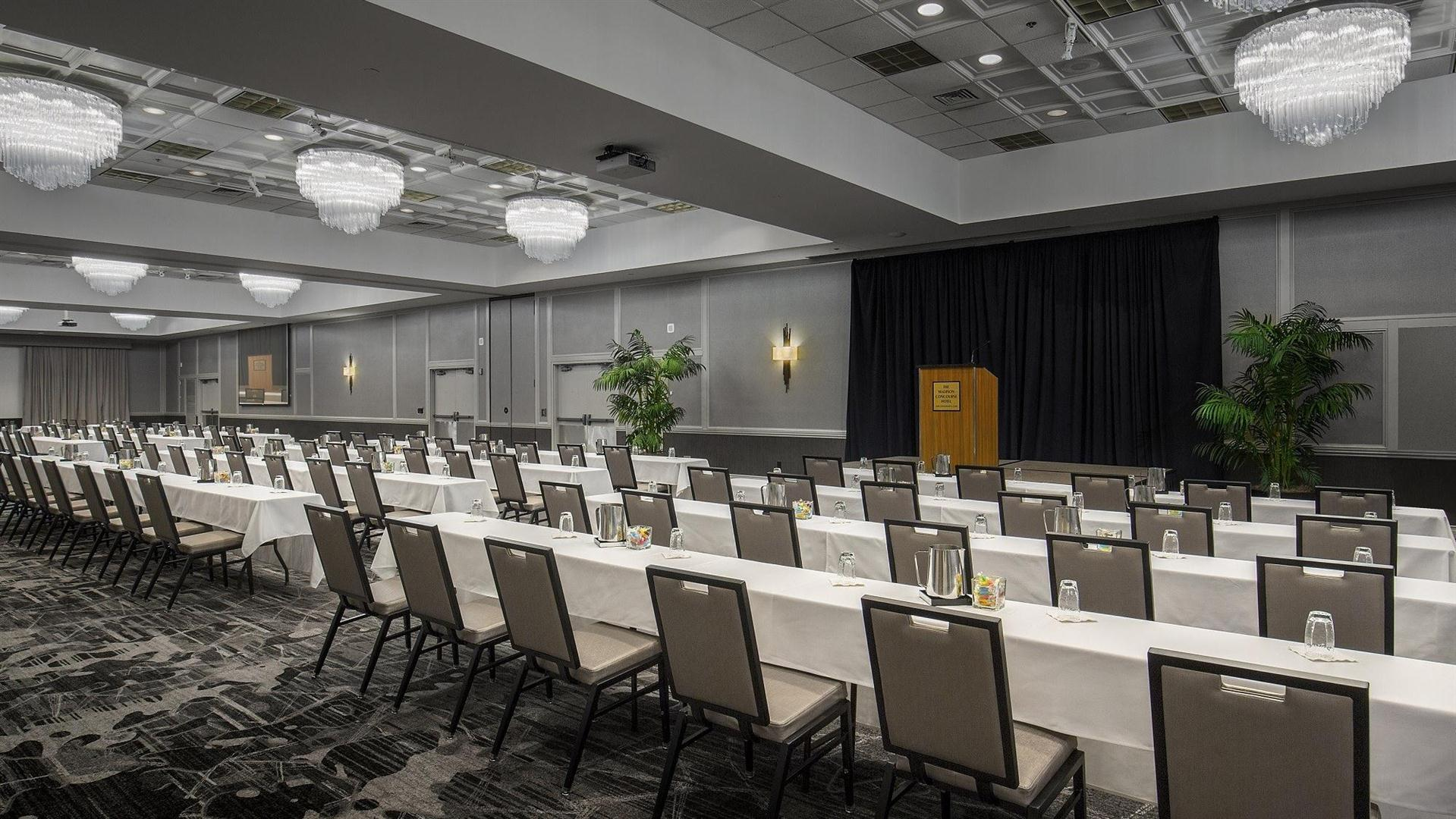 M Is For Mpowering Madison >> Meetings And Events At Madison Concourse Hotel And Governor S Club