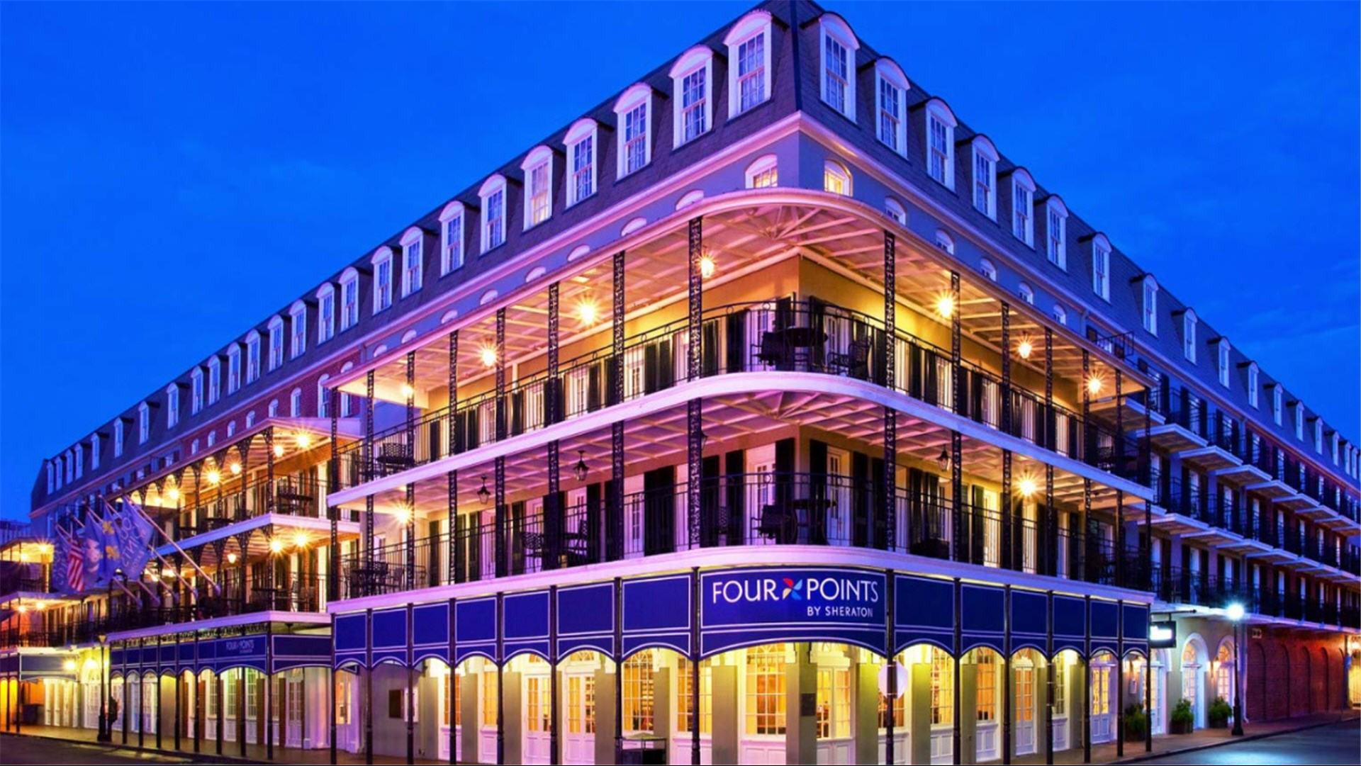 French Quarter Hotels >> Meetings And Events At Four Points By Sheraton French