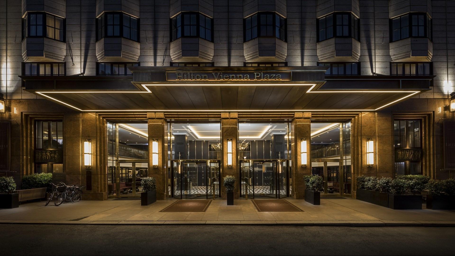 Meeting and event spaces at hilton austria hotels vienna and - Hilton Vienna Plaza Vienna Hotel Select Venue