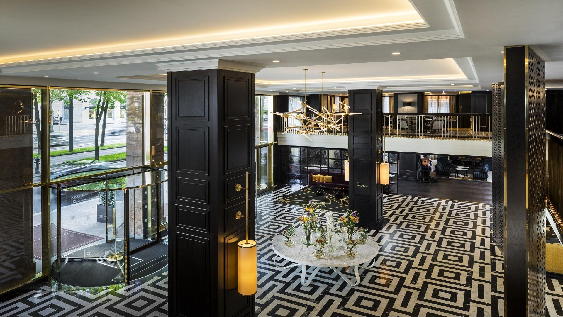 Meeting and event spaces at hilton austria hotels vienna and -  Largest Room Meeting Space Hilton Vienna Plaza Hotel
