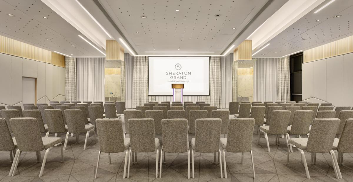 Meetings And Events At Sheraton Grand Hotel Spa Edinburgh Edinburgh Gb2