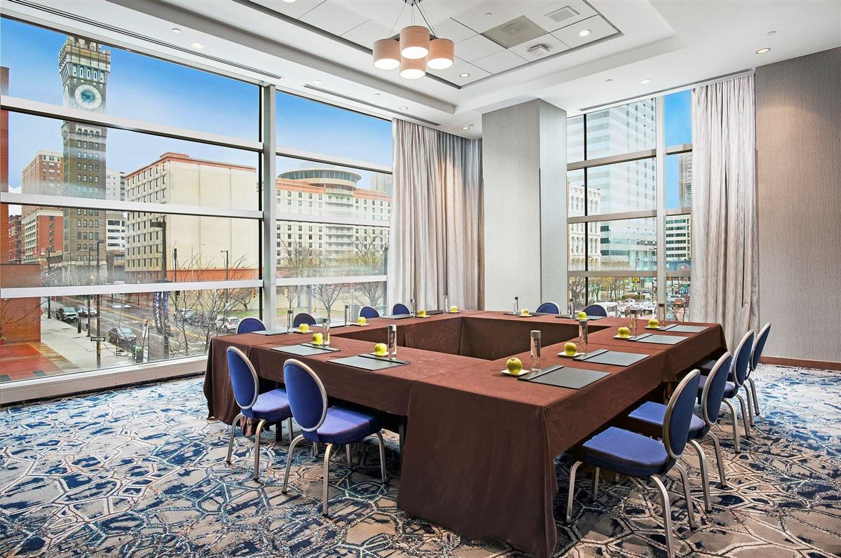 Meetings and events at Hilton Baltimore Inner Harbor
