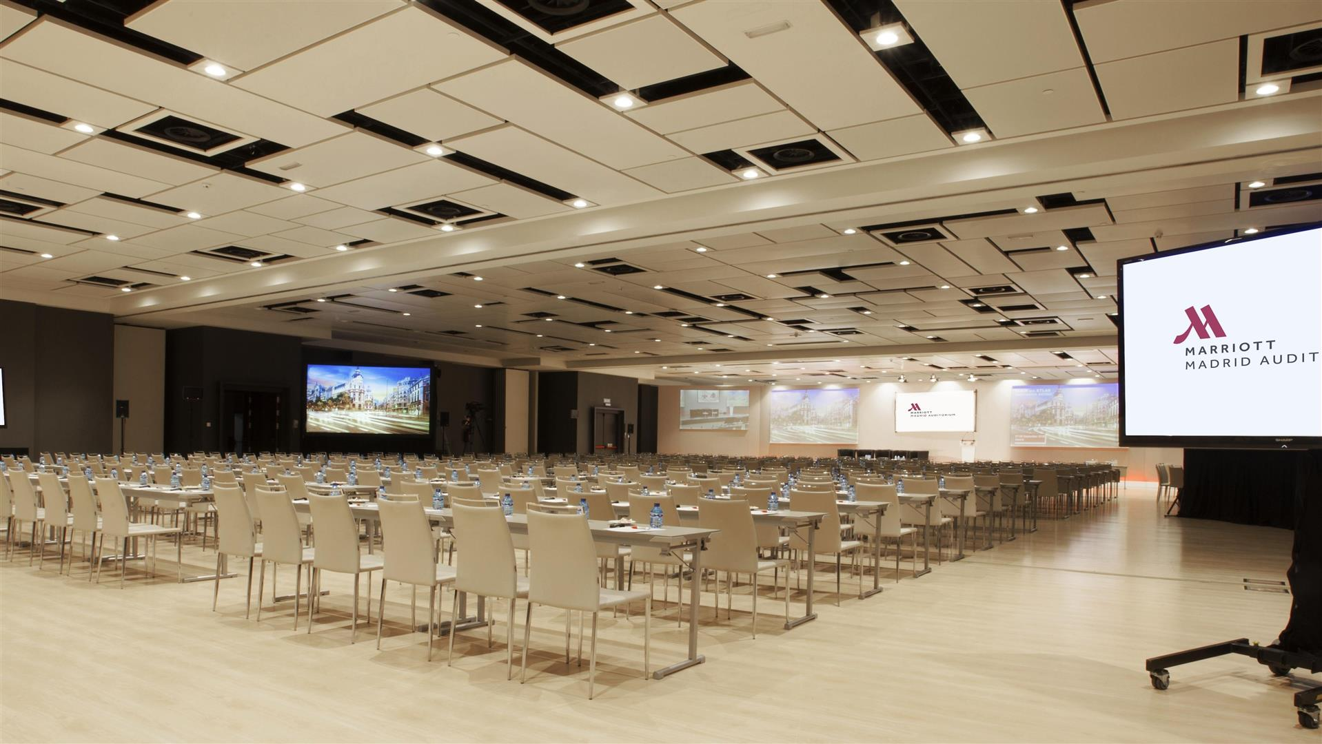 Meetings and events at Madrid Marriott Auditorium Hotel