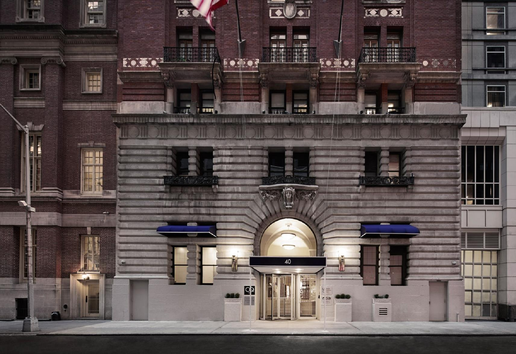 Meetings And Events At Club Quarters Hotel New York City Times Square Midtown New York Ny Us