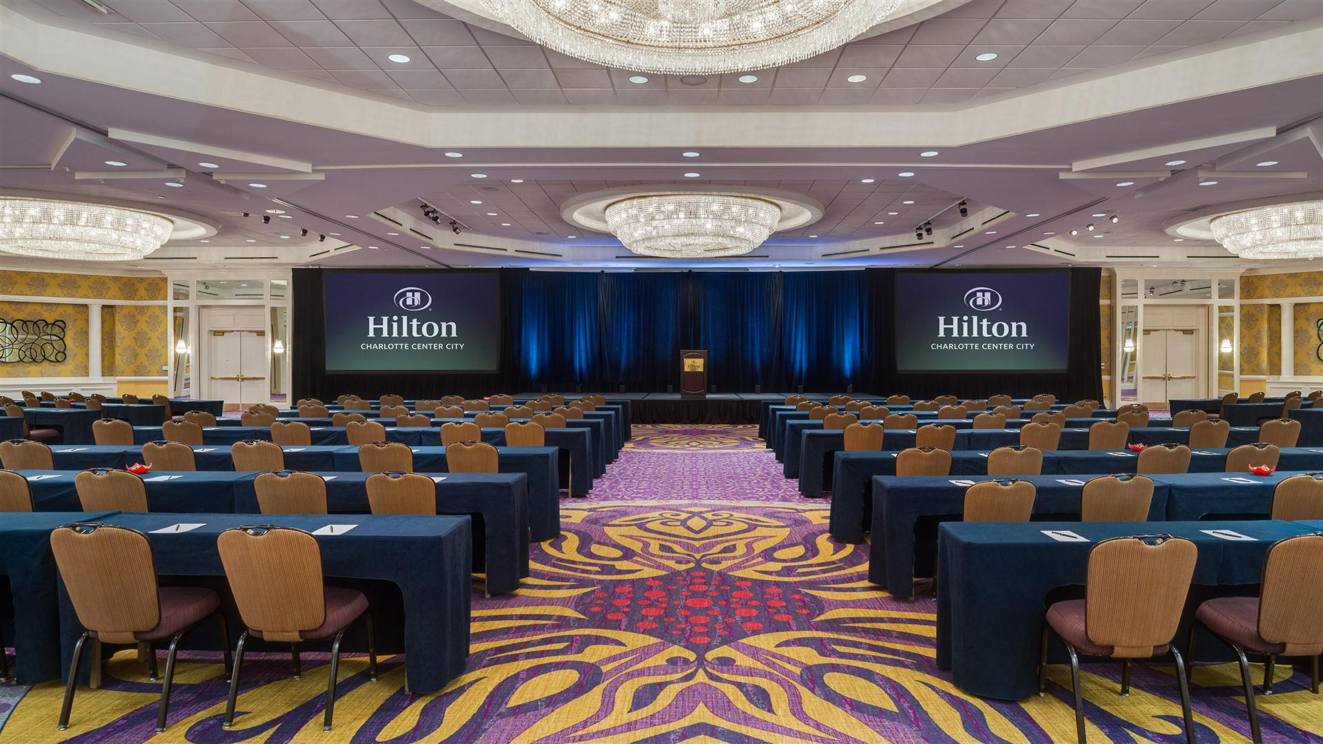 Meetings and Events at Hilton Charlotte Center City Charlotte NC US