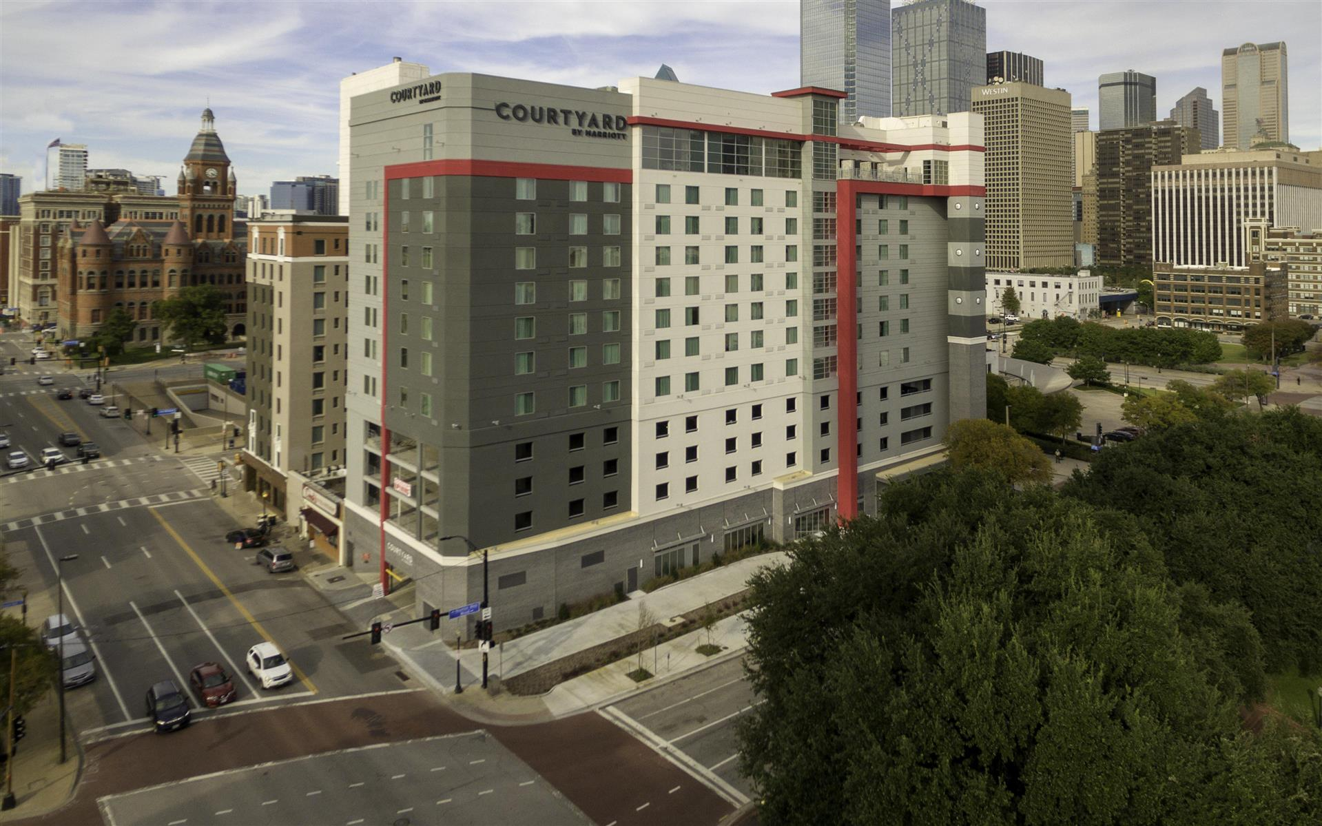 Image result for courtyard dallas marriott downtown