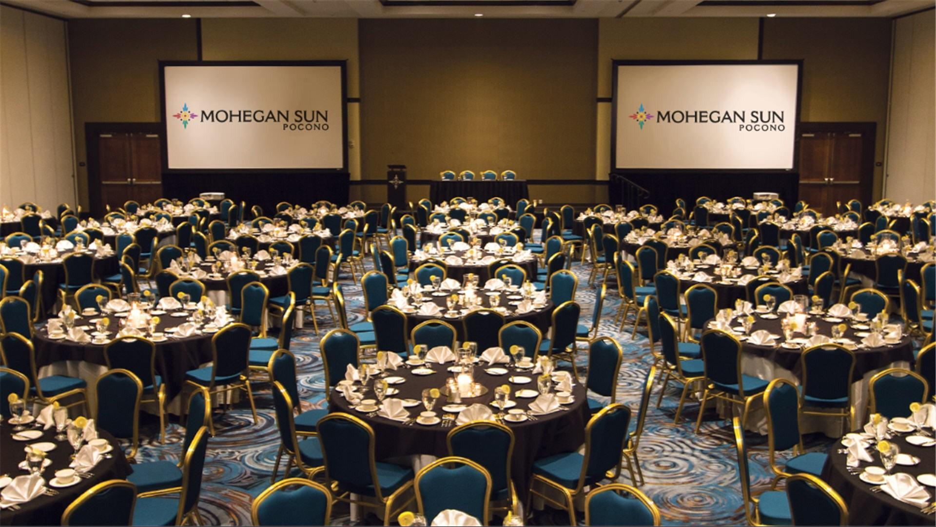 Meetings and events at Mohegan Sun Pocono, Wilkes-Barre, PA, US