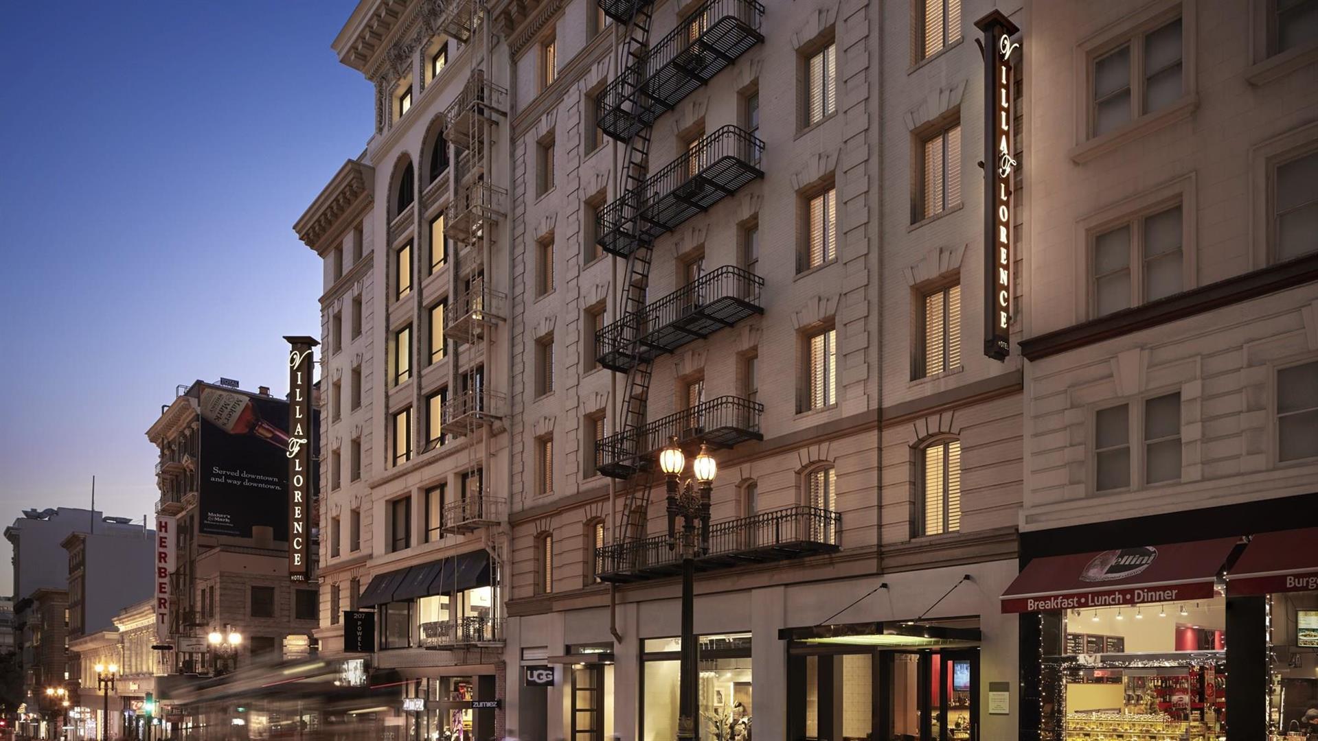 Meetings and Events at Villa Florence, San Francisco, CA, US