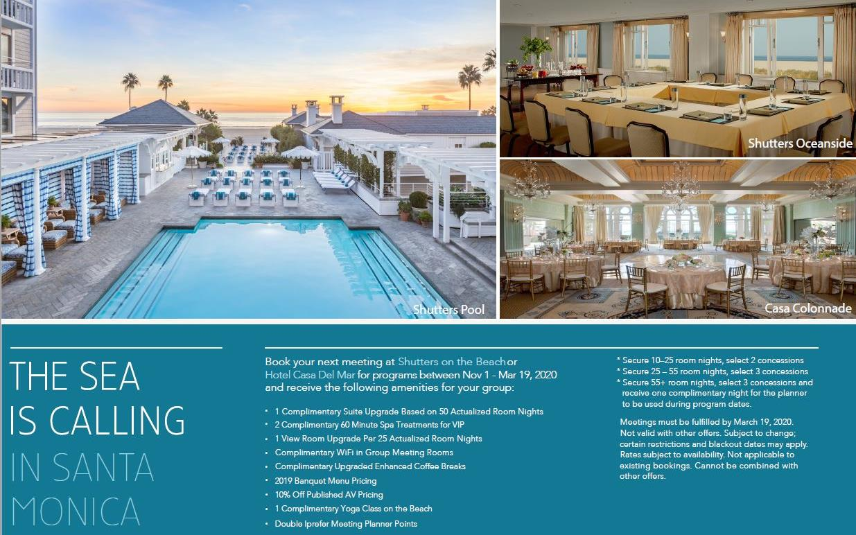 Meetings And Events At Casa Del Mar Hotel Santa Monica Ca Us