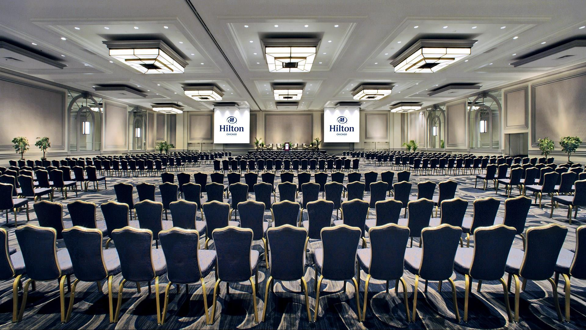 Meetings and events at Hilton Chicago, Chicago, IL, US