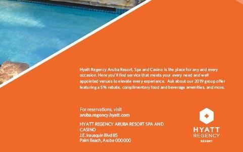 Meetings and events at Hyatt Regency Aruba Resort, Spa and Casino