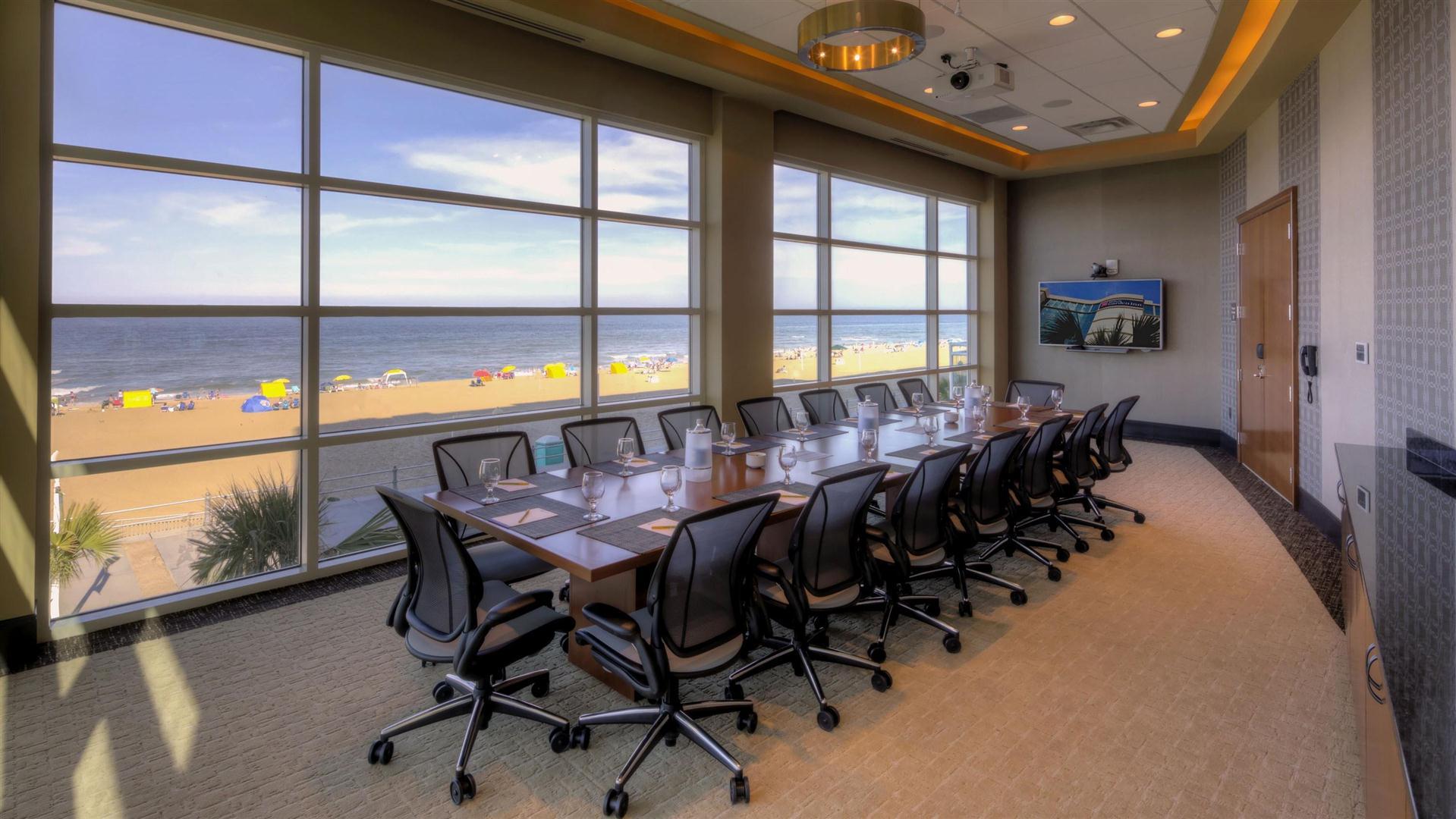 meetings events at hilton garden inn virginia beach oceanfront