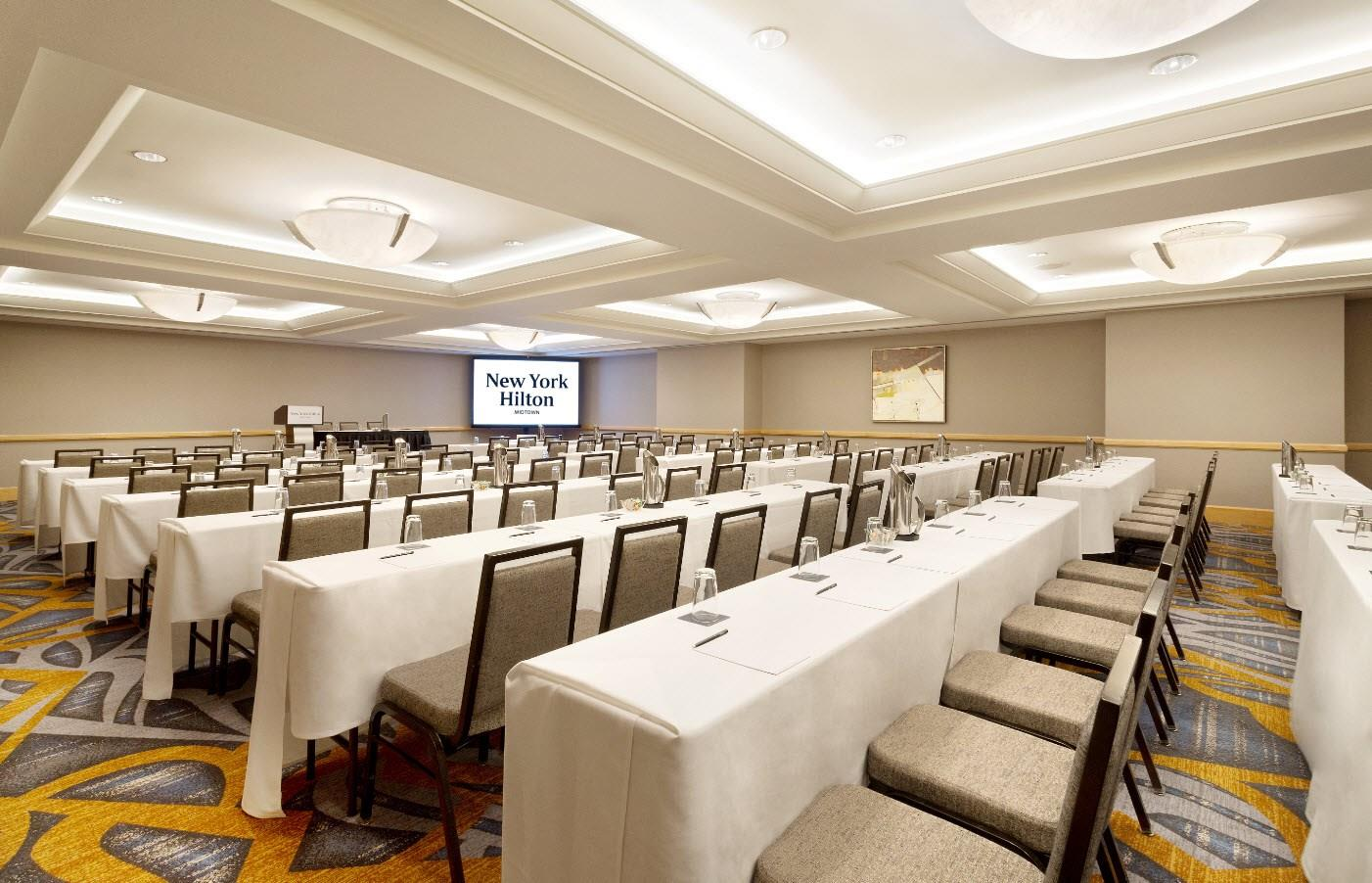 Meetings events at new york hilton midtown new york ny us concourse a sciox Images