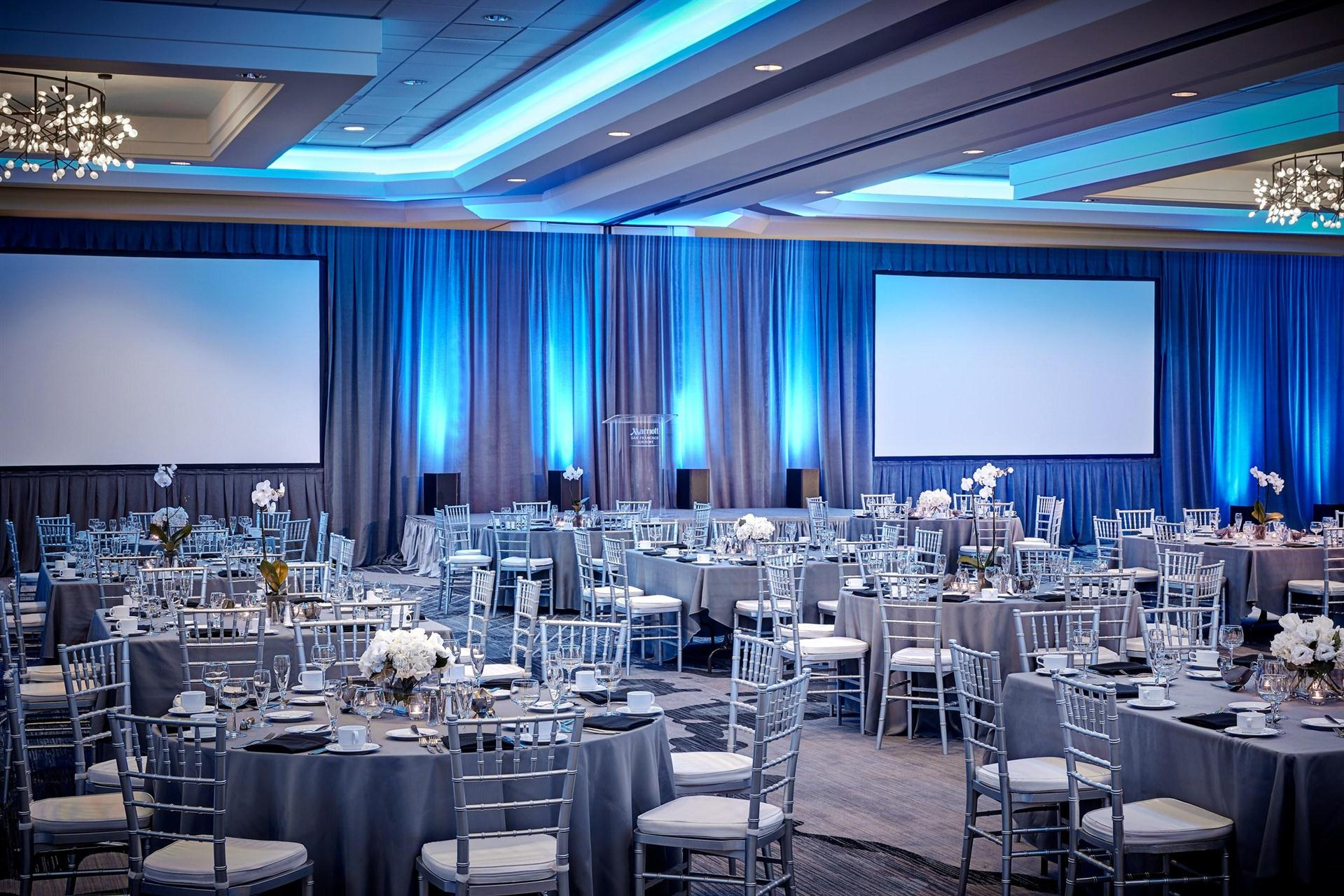 Meetings and Events at San Francisco Airport Marriott Waterfront ...
