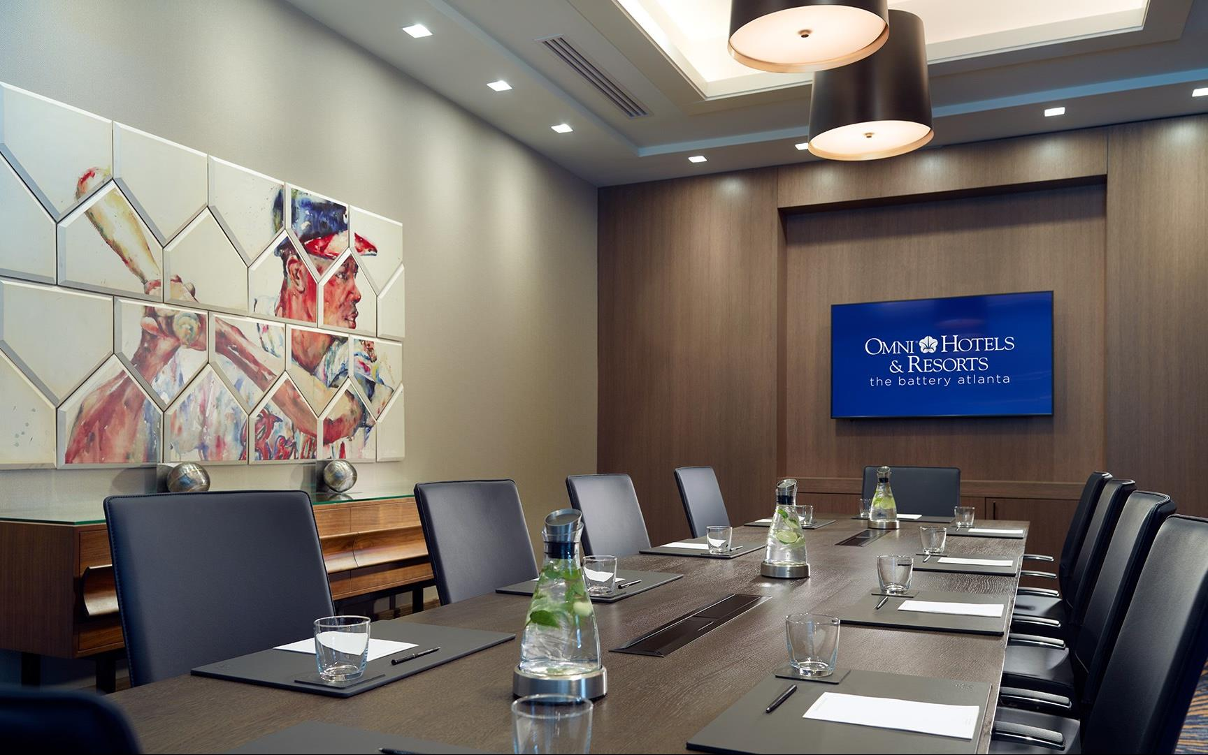 Battery Atlanta Map.Meetings And Events At Omni Hotel At The Battery Atlanta Atlanta