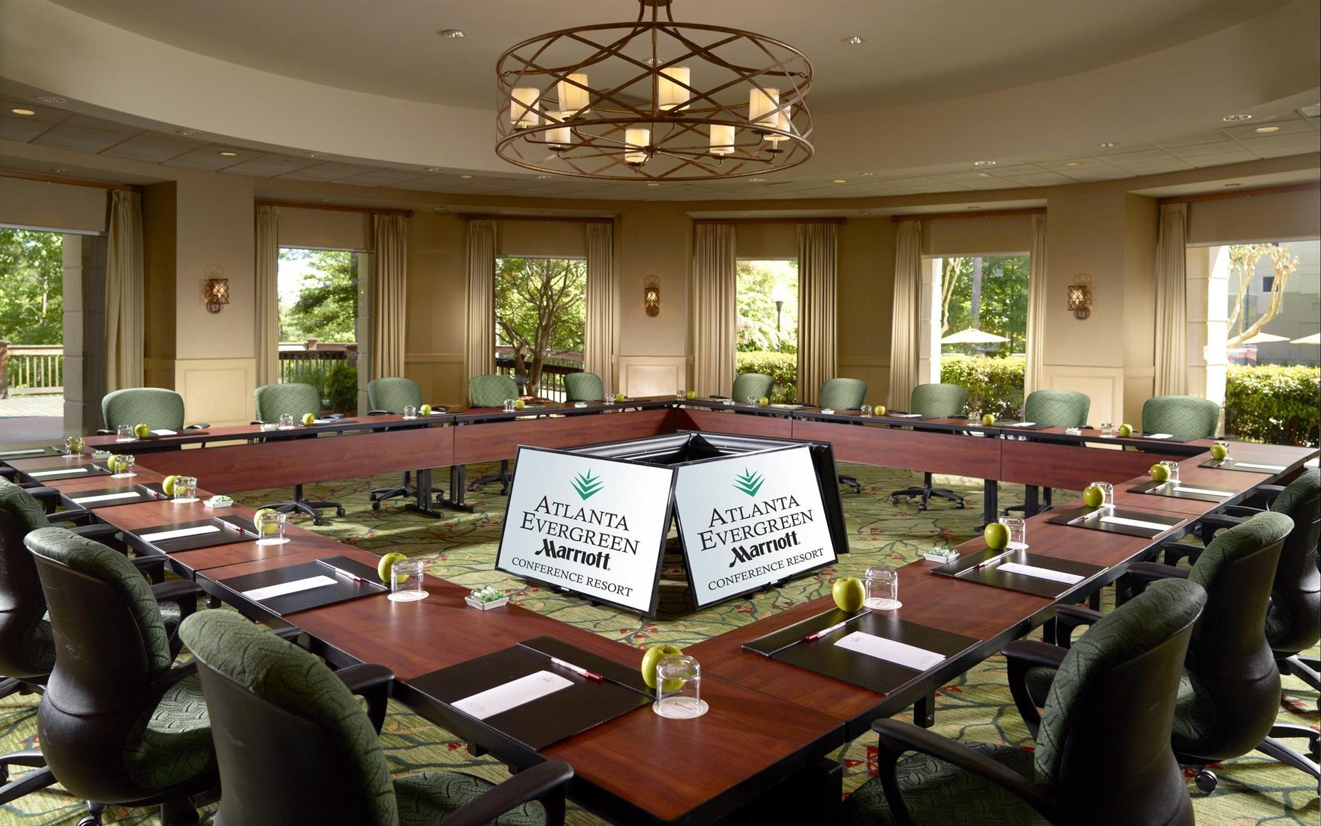 meetings and events at atlanta evergreen marriott conference resort
