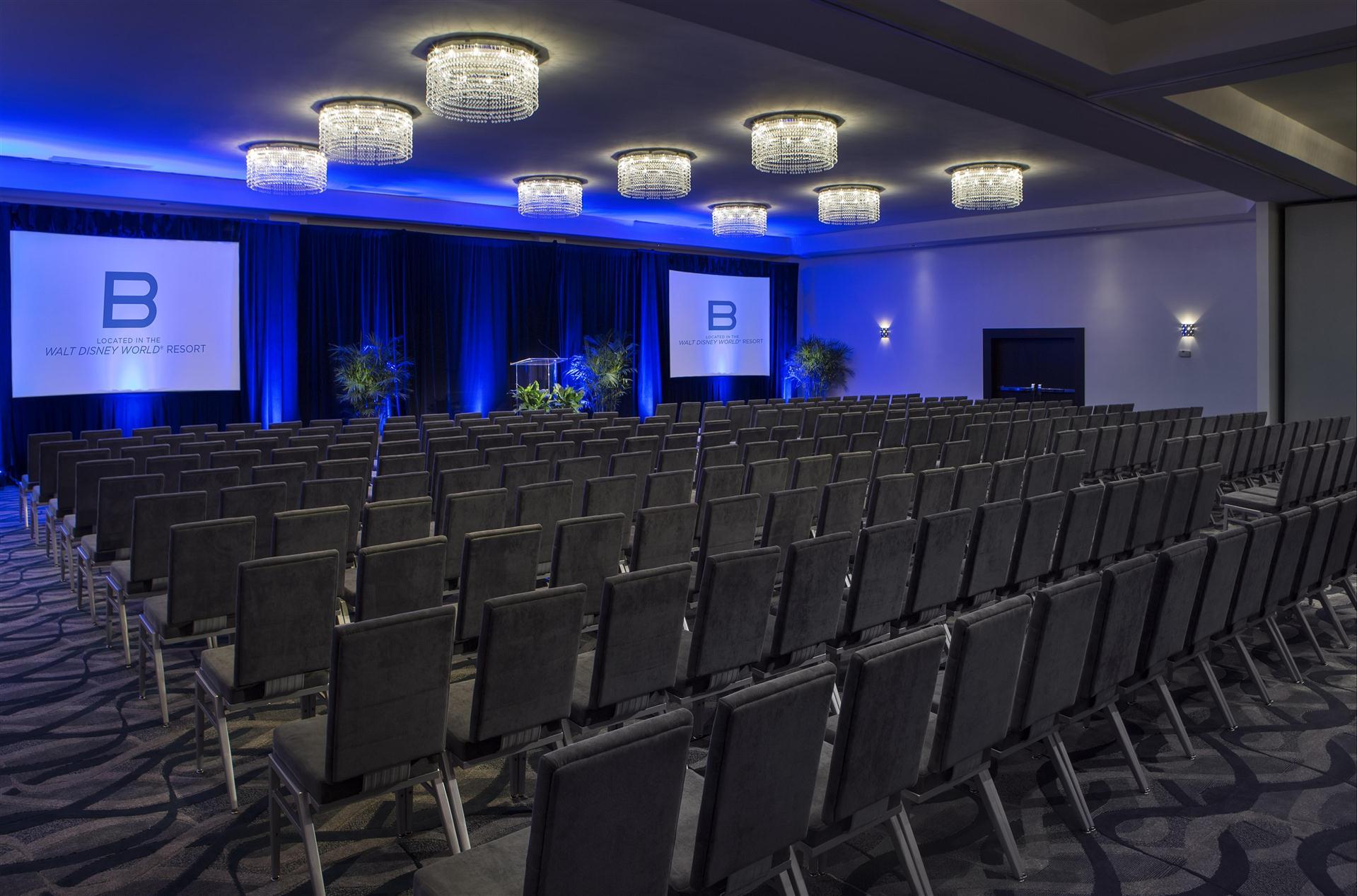 Meetings and events at B Resort & Spa Disney Springs®, Lake Buena