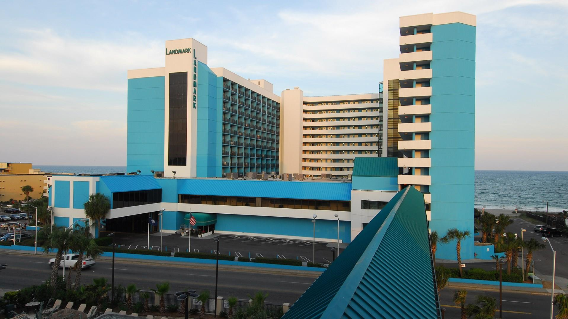 Hotels In Myrtle Beach Sc >> Meetings And Events At Landmark Resort Hotel Myrtle Beach Sc Us